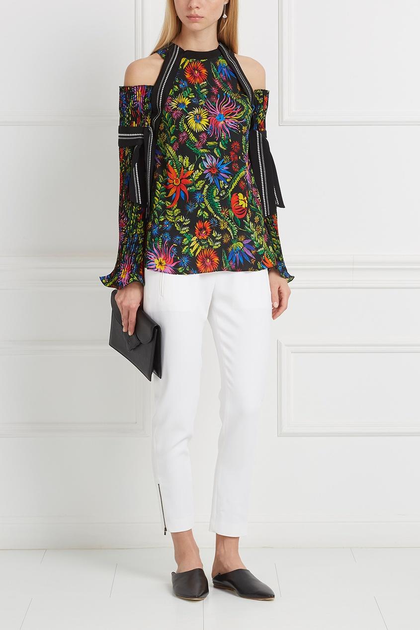 Блузка с принтом