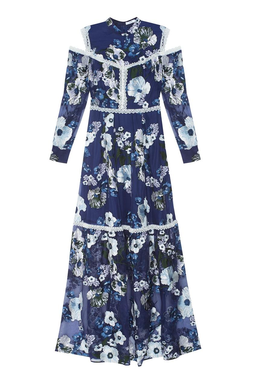 Шелковое платье Sabine.