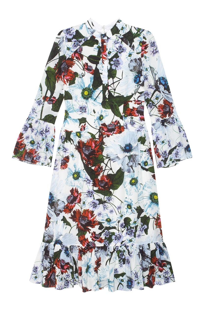 Шелковое платье Connie.