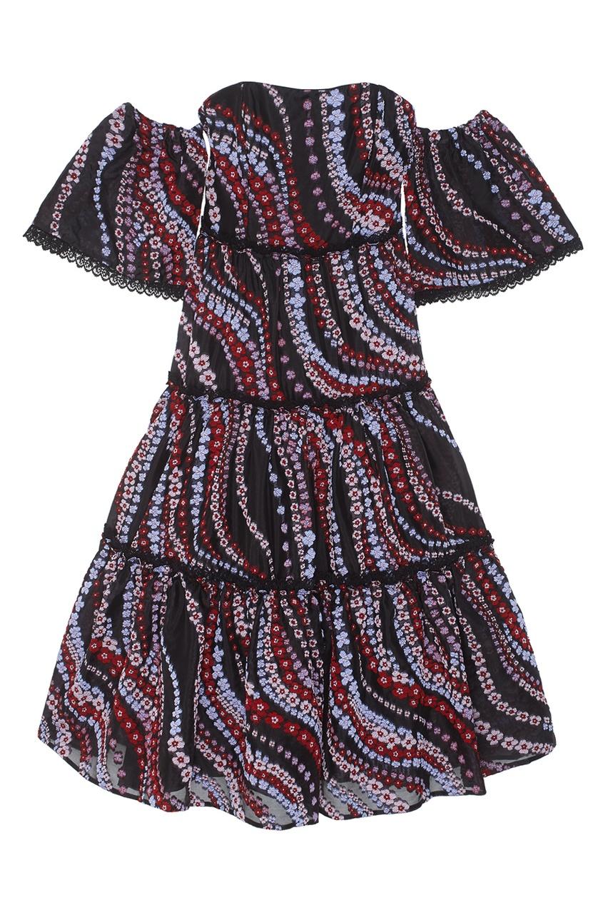 Шелковое платье Dee.