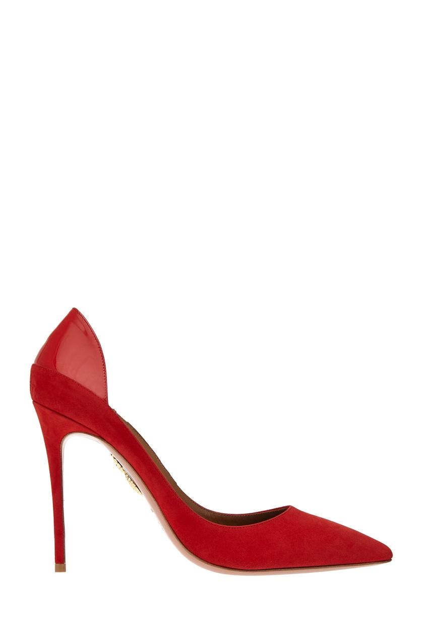 Кожаные туфли Fellini Pump