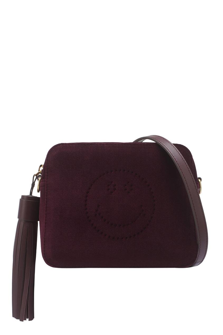 Anya Hindmarch Бархатная сумка