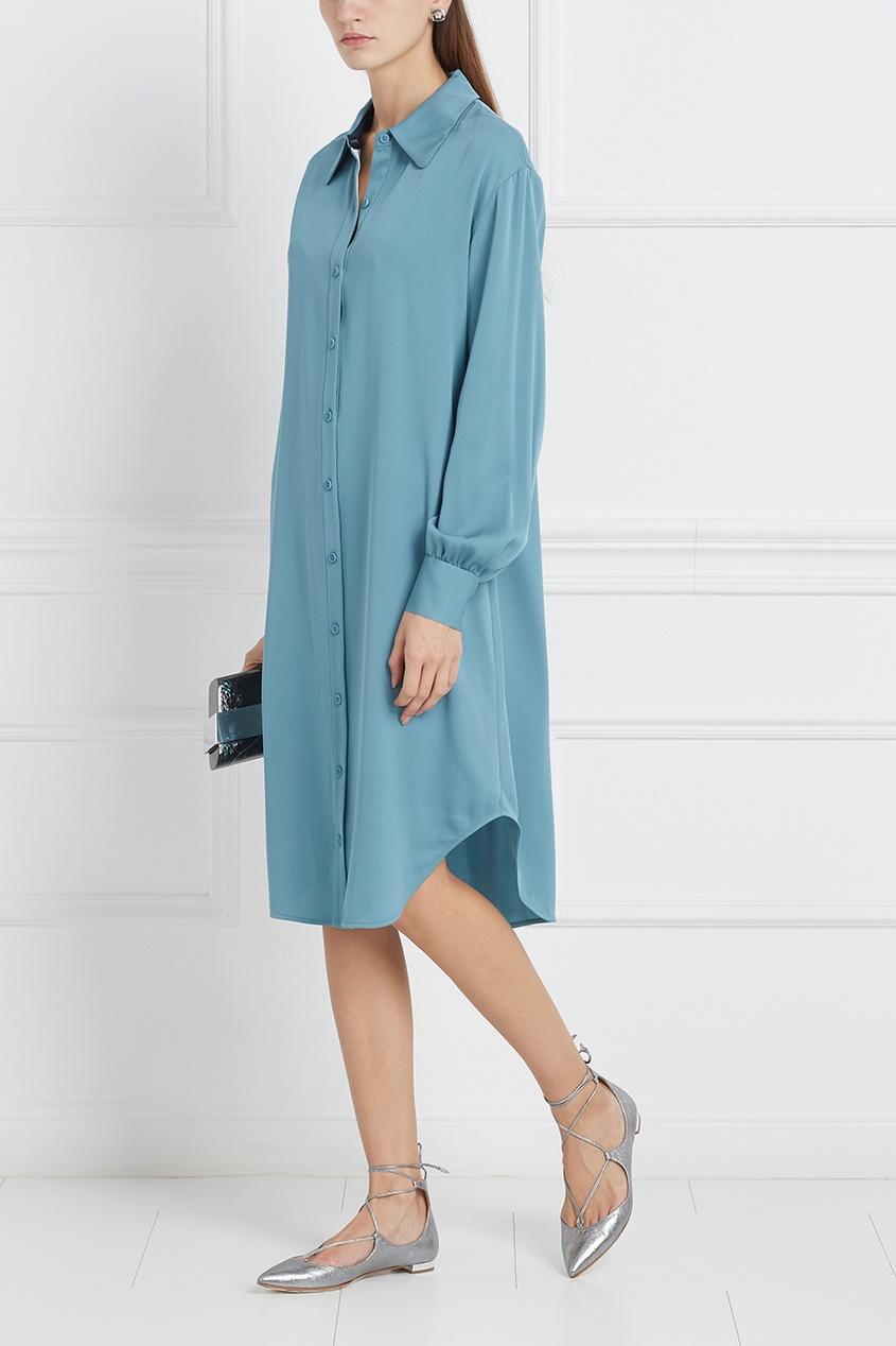 Шелковое платье Tressa