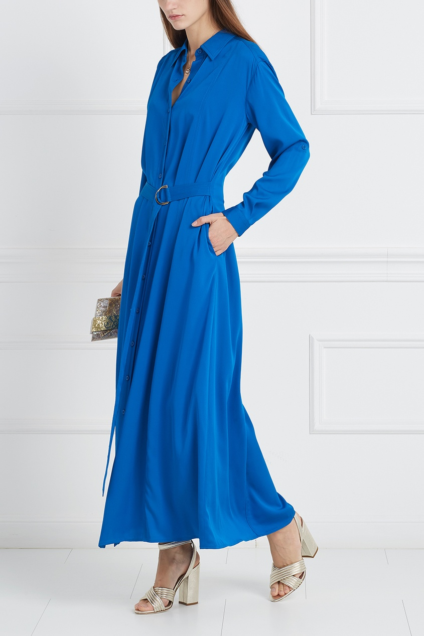 Шелковое платье Clasire Maxi