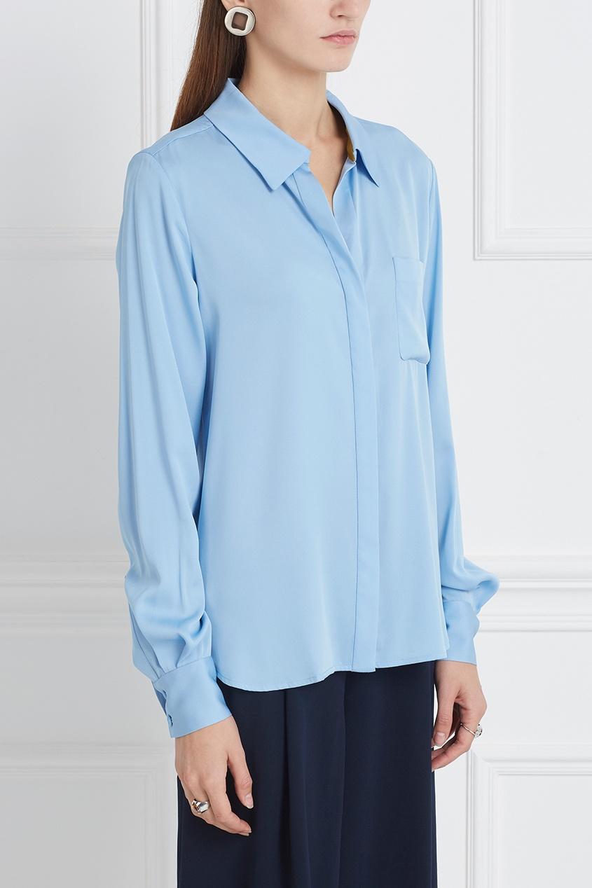 Diane von Furstenberg Шелковая блузка Carter