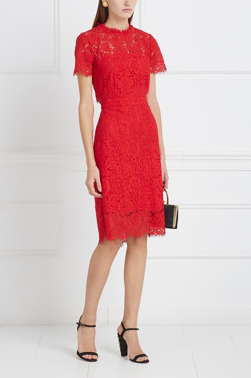 Кружевное платье Alma