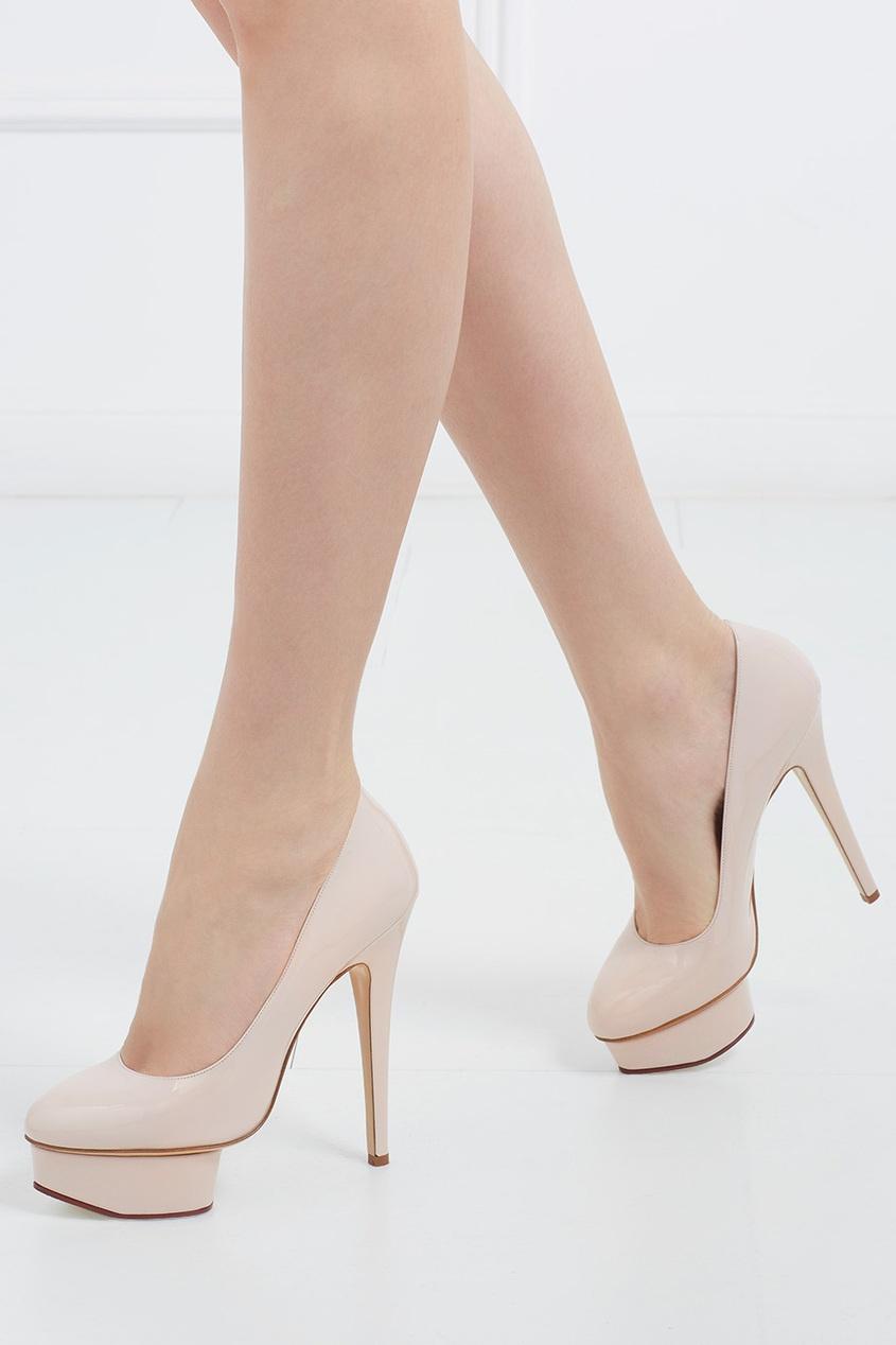 Туфли из лакированной кожи Dolly Covered Platform