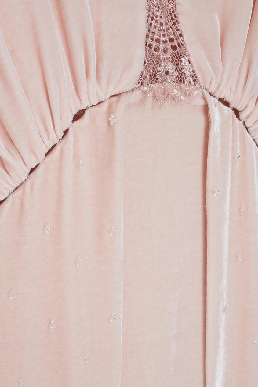 Бархатное платье «Стрекоза»