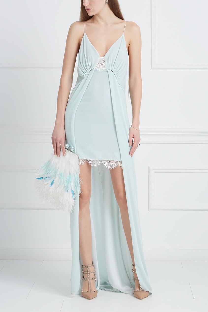 Esve Бархатное платье «Стрекоза»