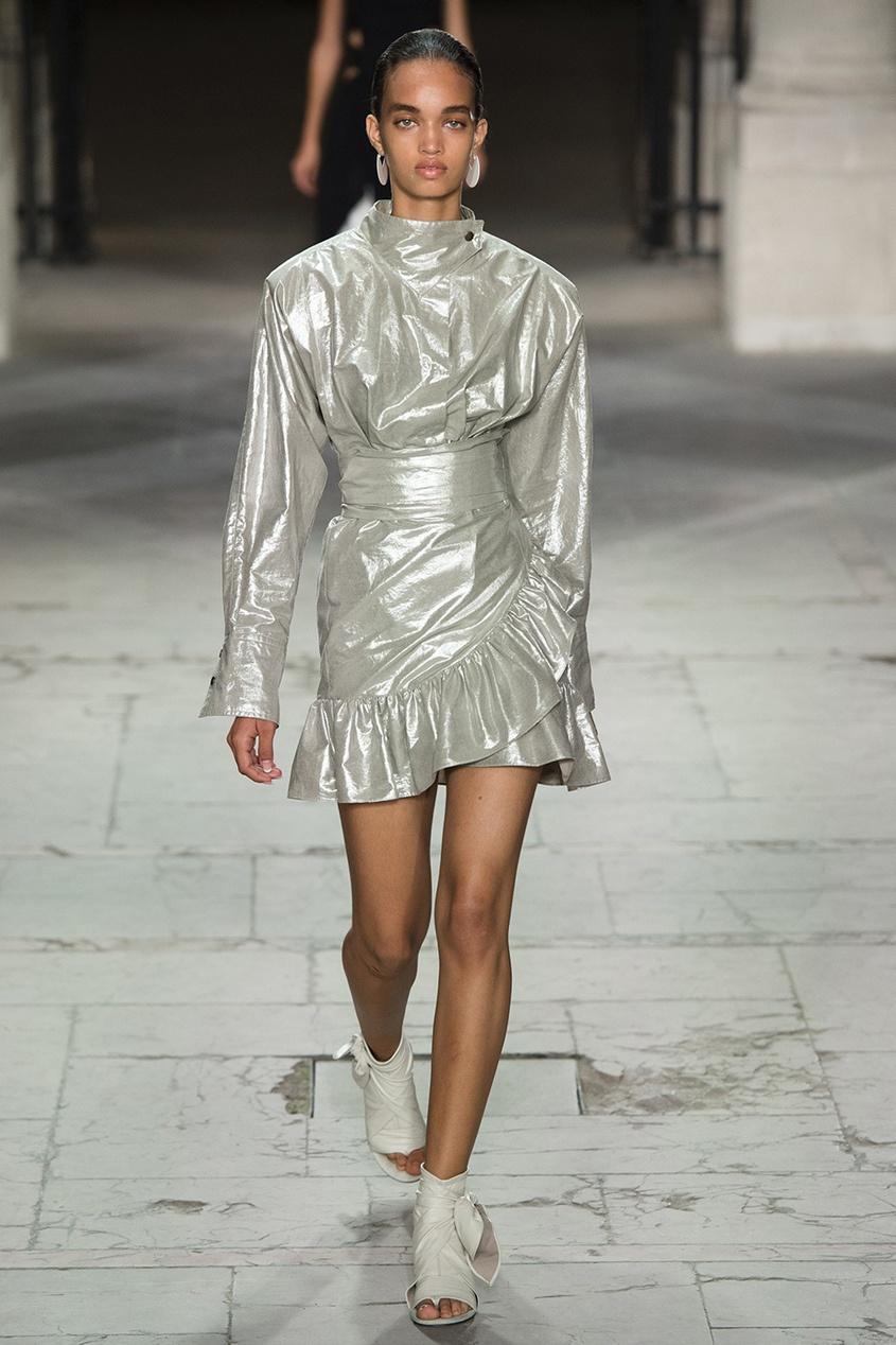 Isabel Marant Хлопковая юбка Liliko