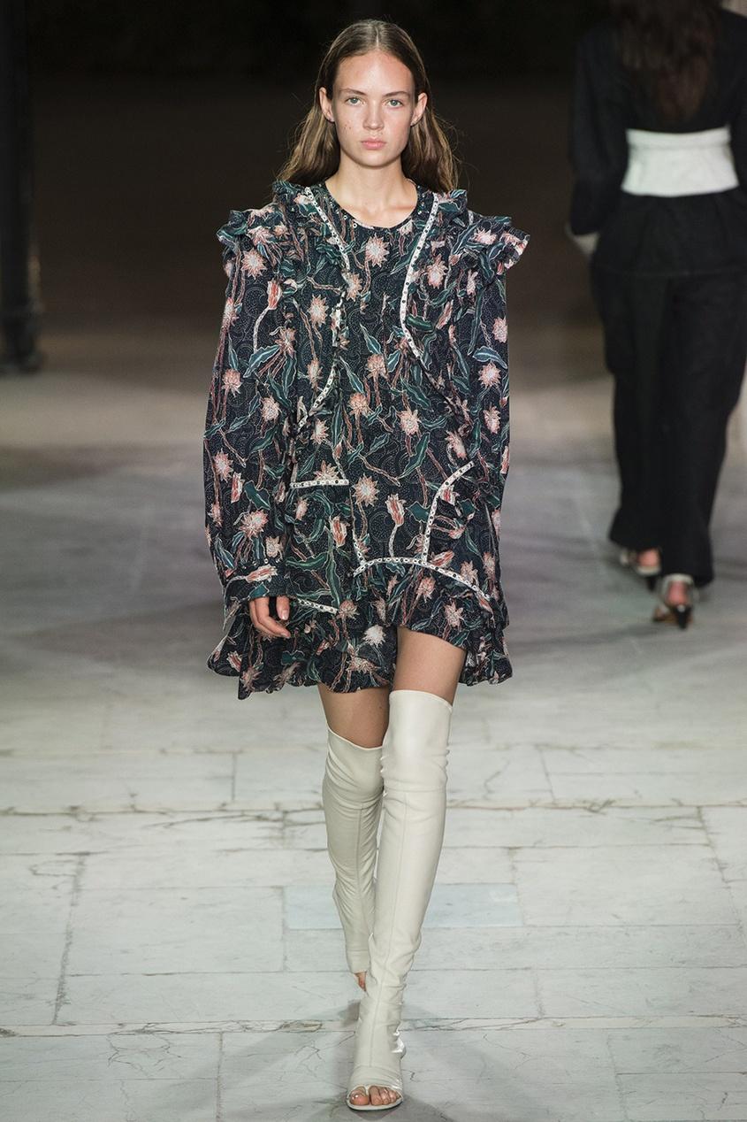Isabel Marant Хлопковое платье Ullo