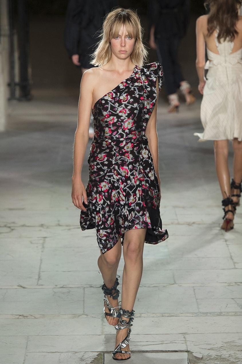 Isabel Marant Шелковое платье Parlam