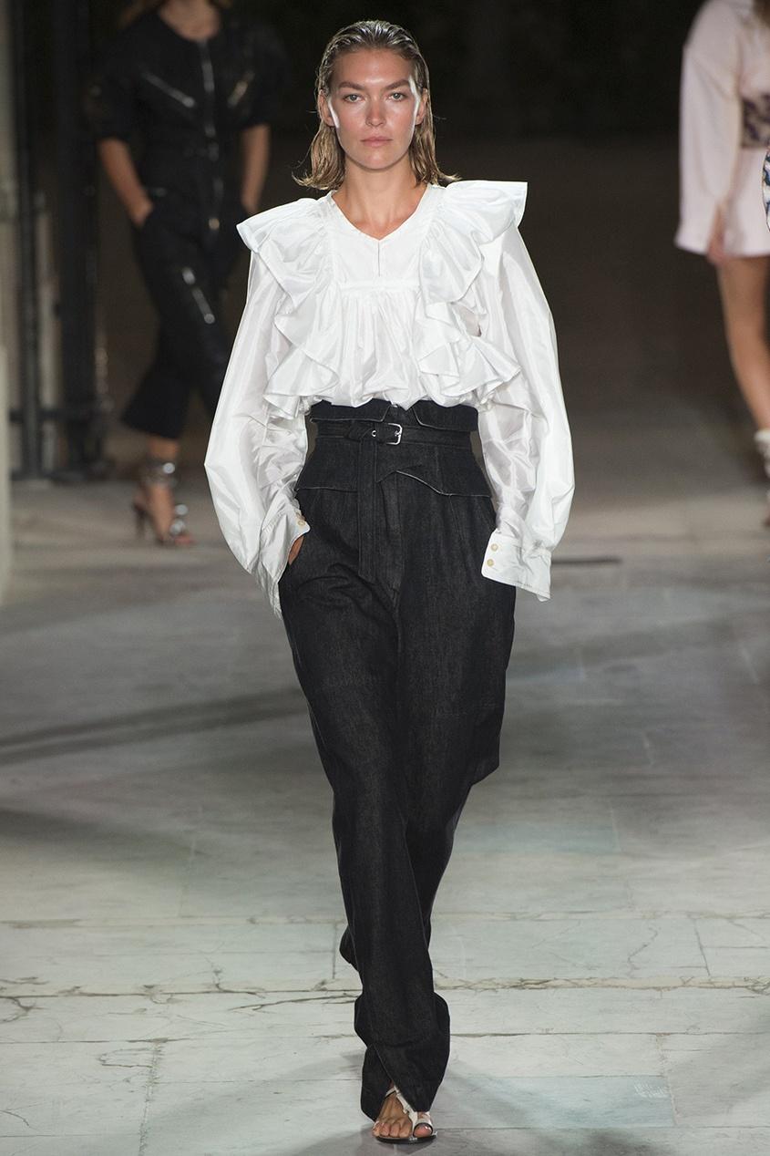 Isabel Marant Однотонная блузка Arlington