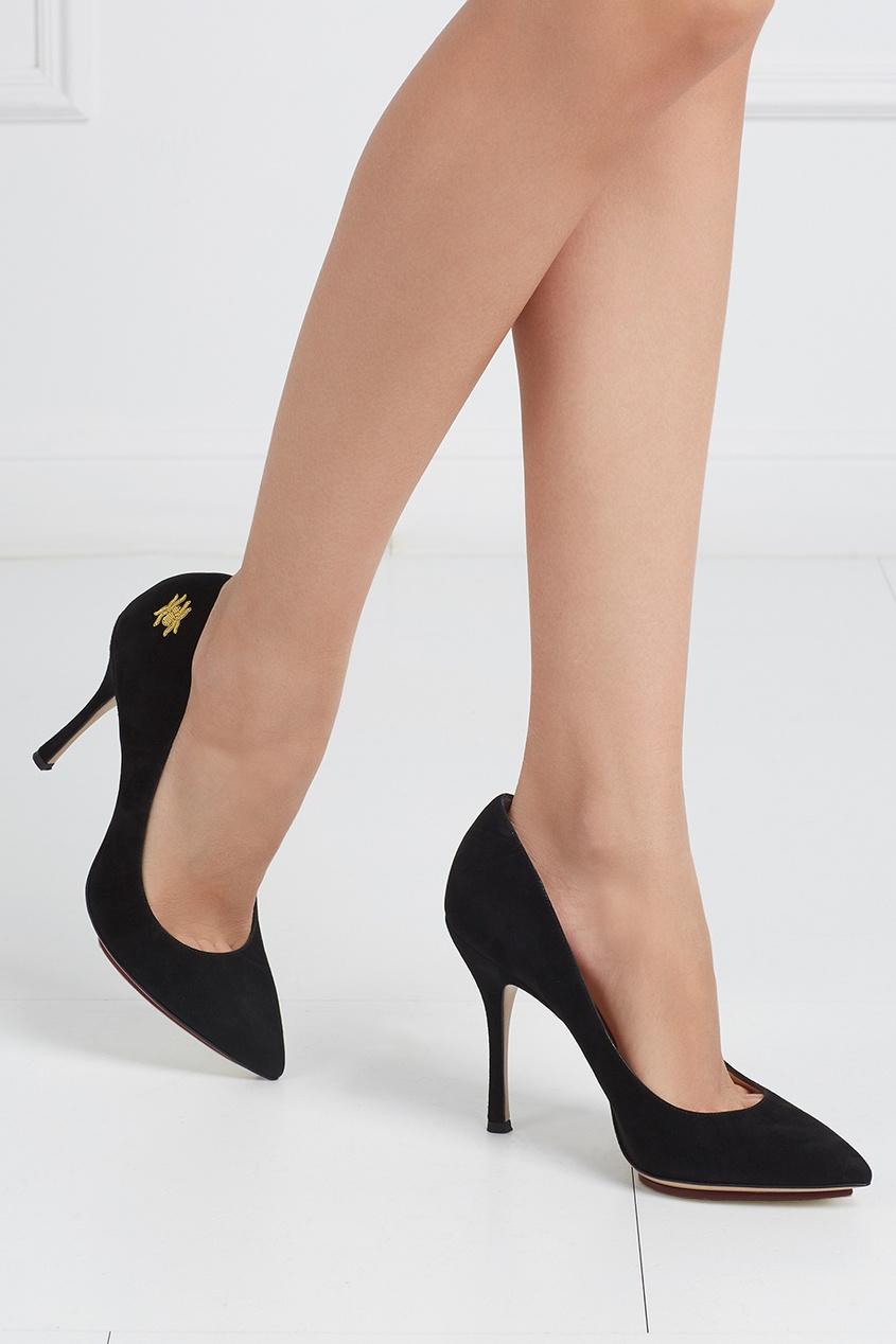 Замшевые туфли Bacall