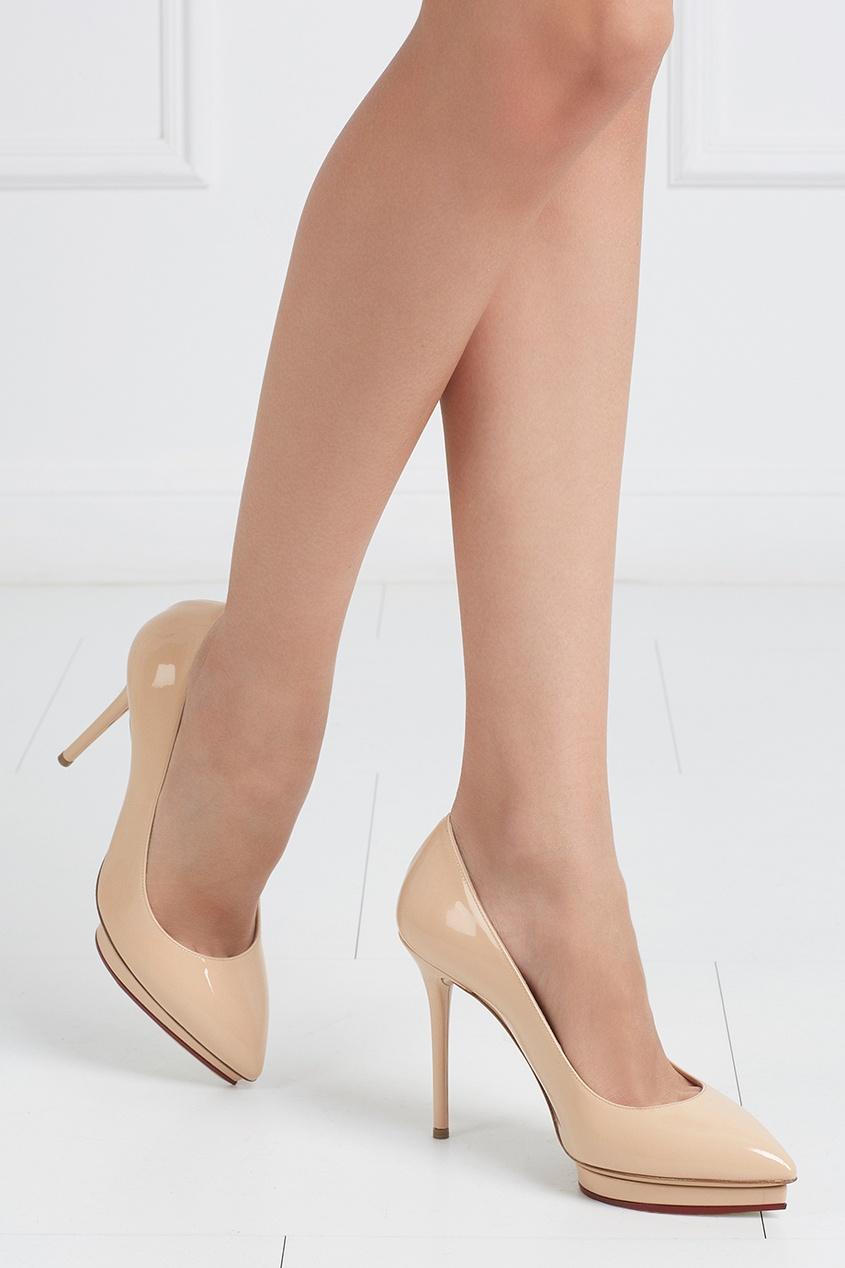 Купить со скидкой Кожаные туфли Debbie Covered Platform