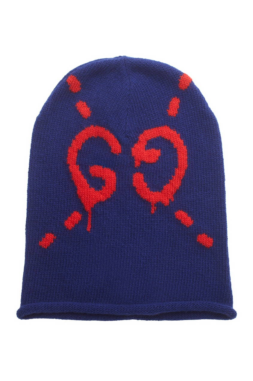 Шерстяная шапка Gucci Ghost