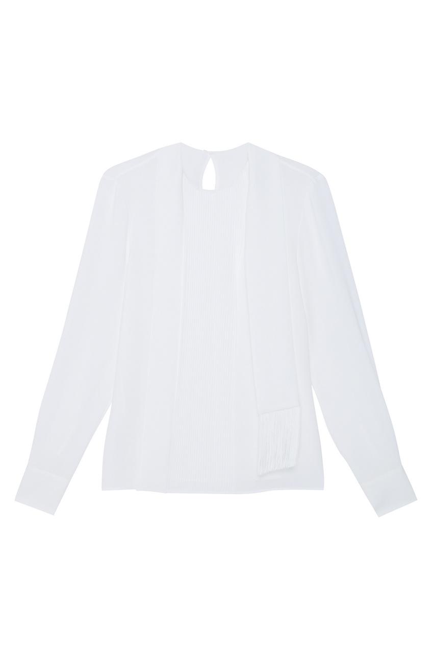 Однотонная блузка Banoki