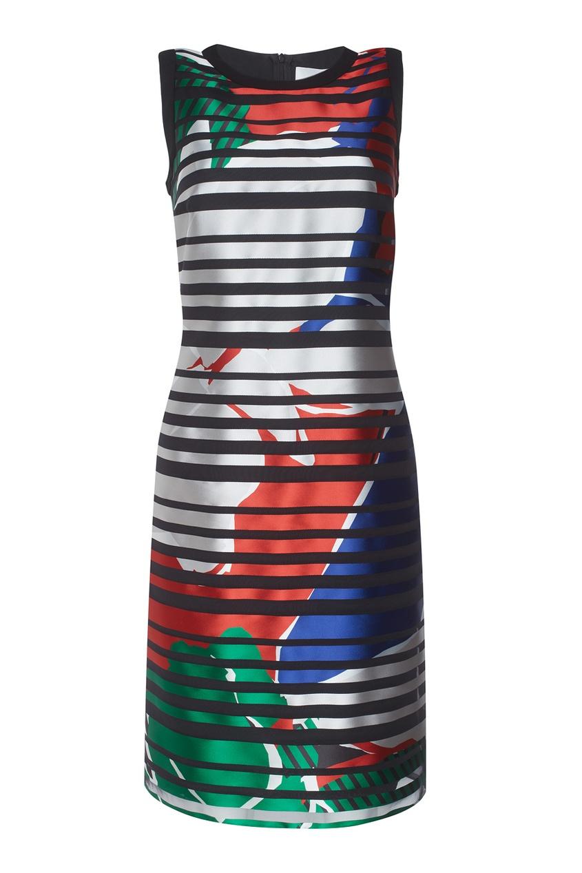 Платье  с принтом Danyna