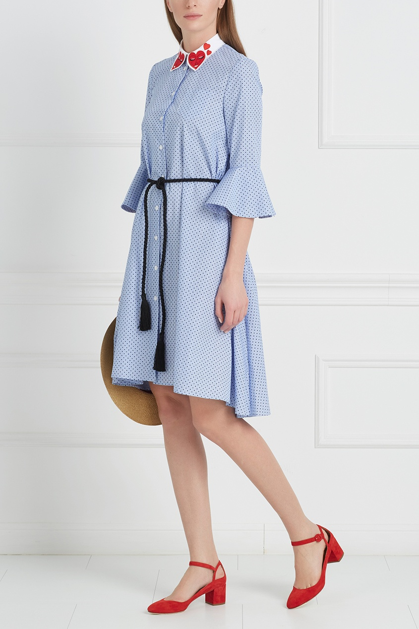 Vivetta Хлопковое платье Ornitorinco