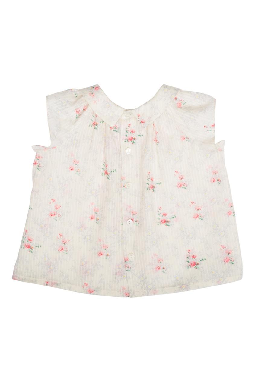 Хлопковая блузка Eolie