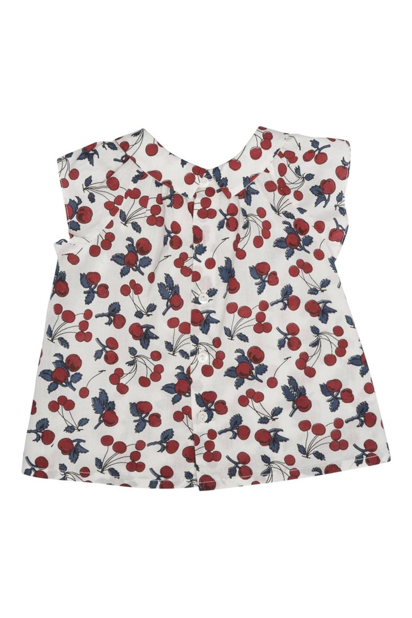 Хлопковая блузка Еolie