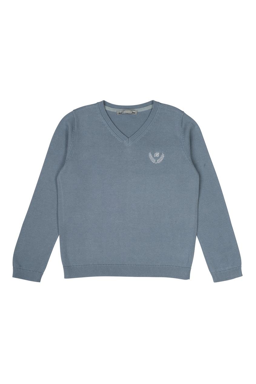 Хлопковый пуловер от AIZEL