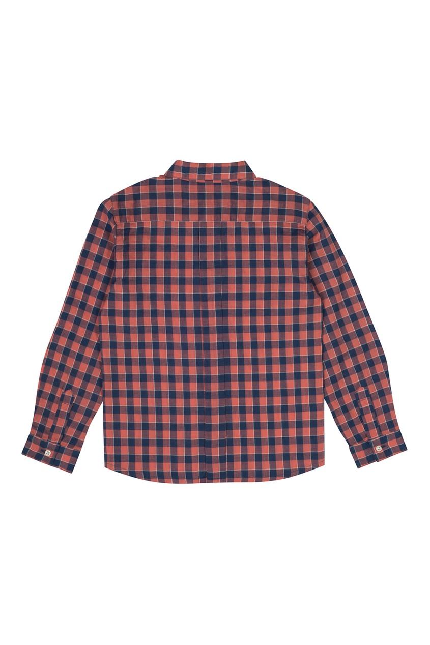 Bonpoint Рубашка в клетку Acteur bonpoint купальник summer