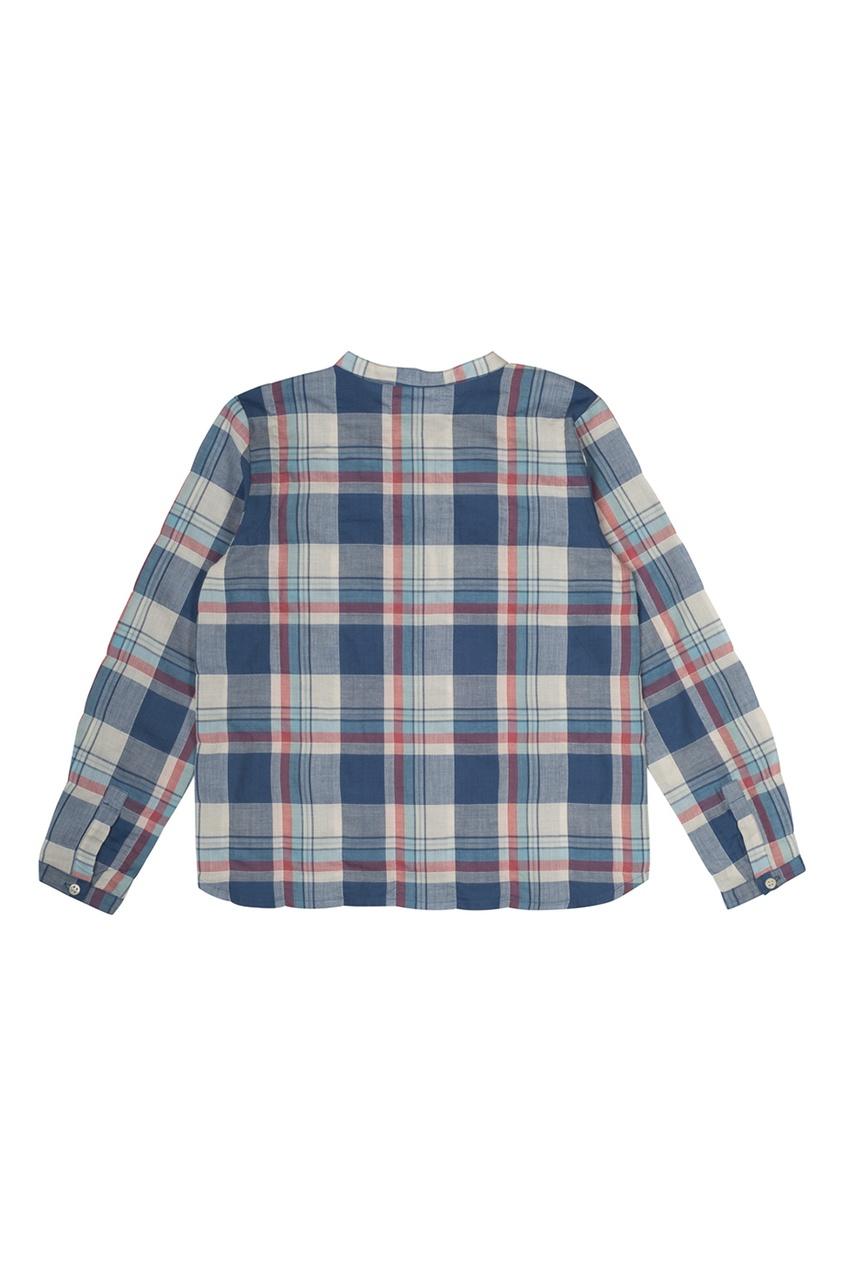 Рубашка из хлопка и льна Artiste
