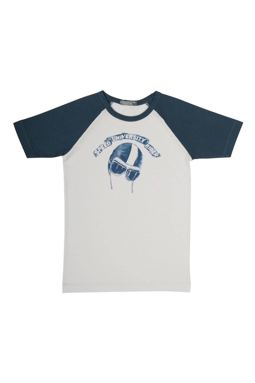 Хлопковая футболка от AIZEL