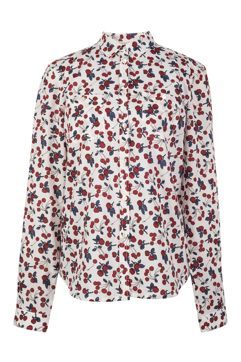 Блузка из хлопка Edmee от AIZEL