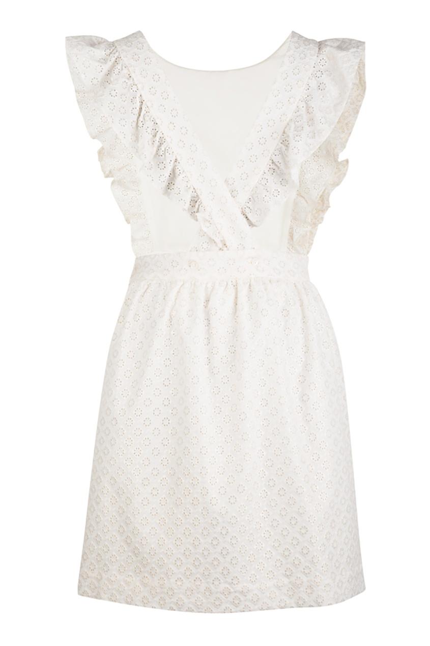 Хлопоковое платье Emblemey от AIZEL