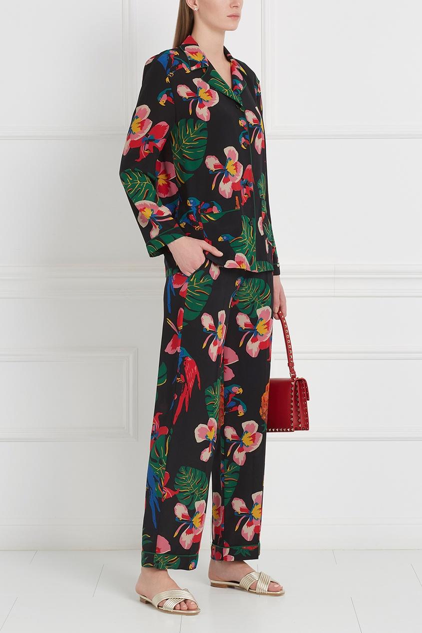 Valentino Шелковые брюки