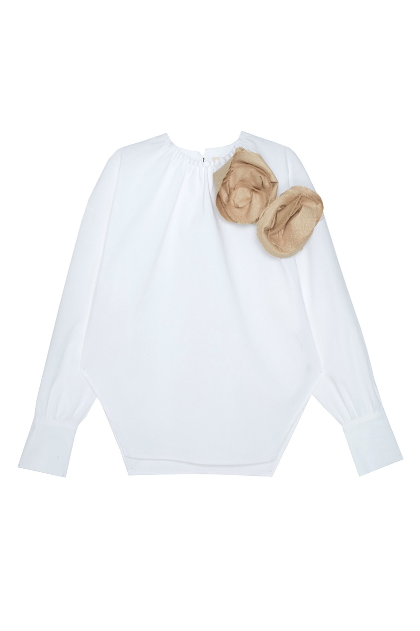 A.W.A.K.E. Хлопковая блузка Elegant