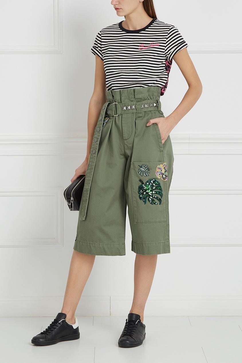 Marc Jacobs Хлопковые шорты