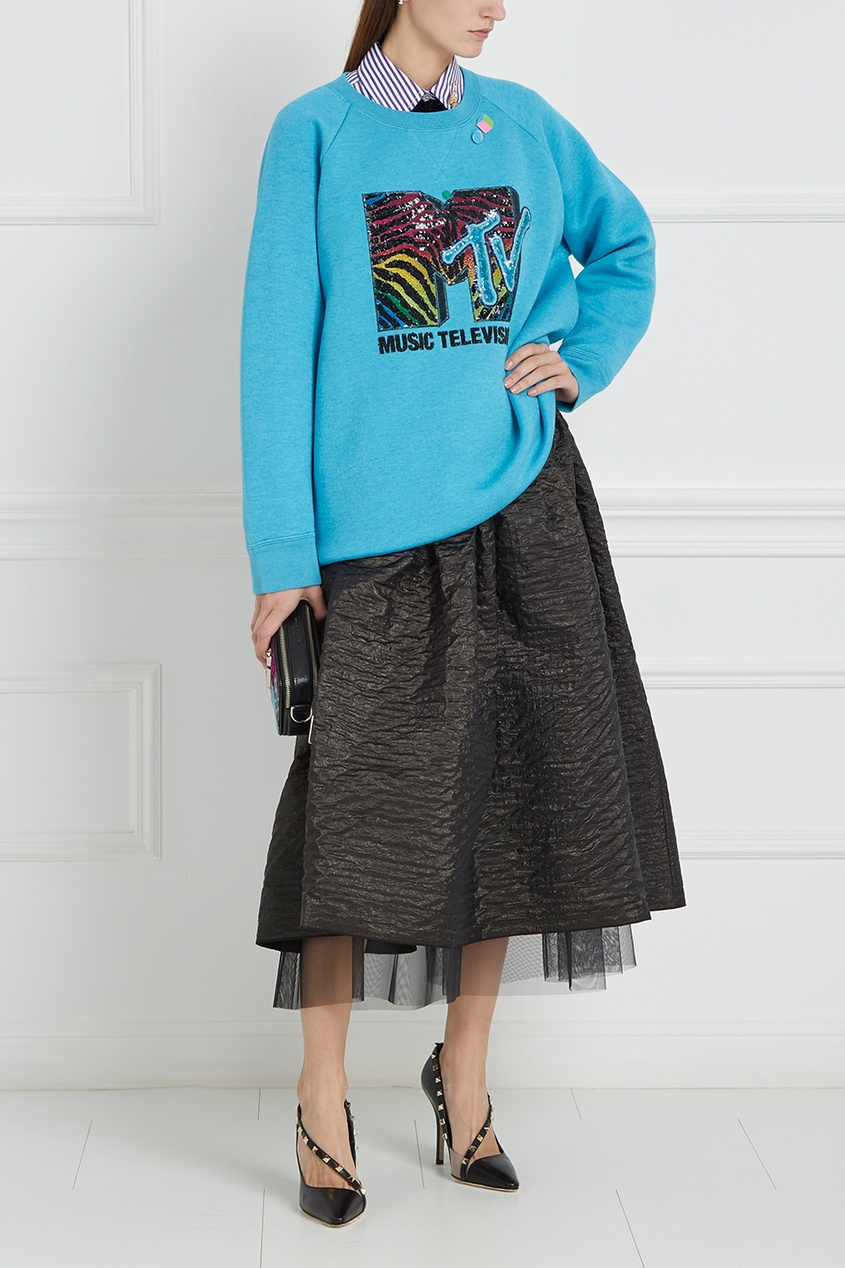 Marc Jacobs Шелковая юбка