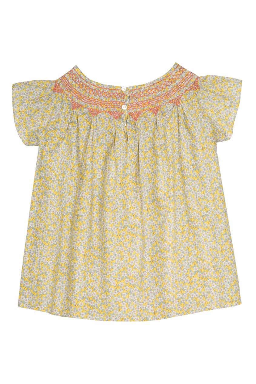 Хлопковая блузка Ella