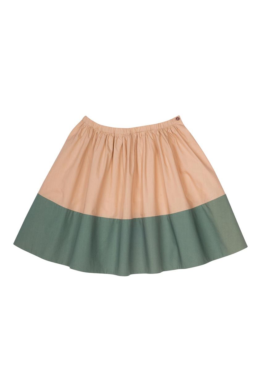 Хлопковая юбка Elixir