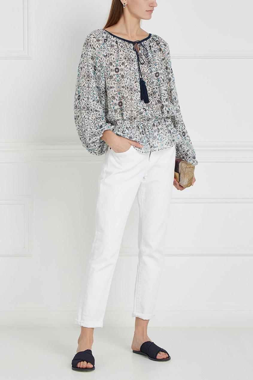 Шелковая блузка Silk