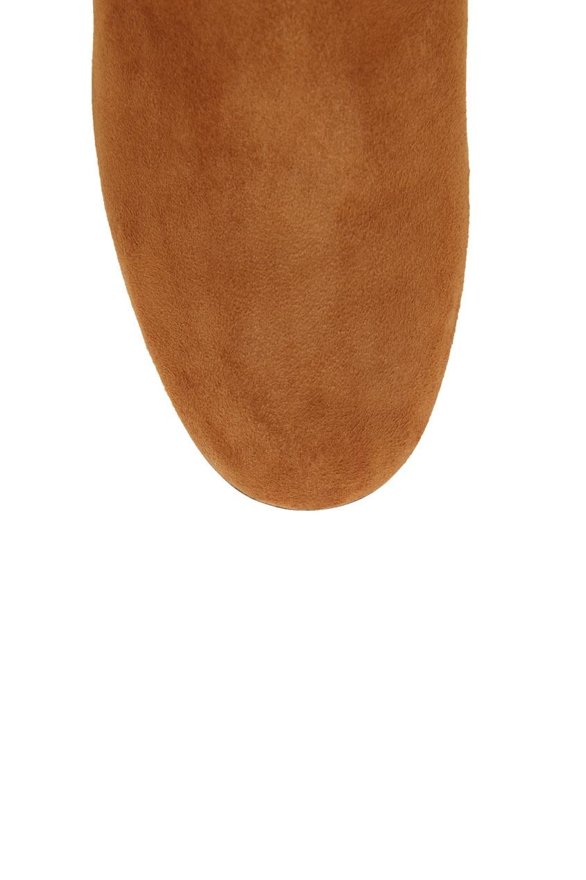 женские ботфорты aquazzura, коричневые