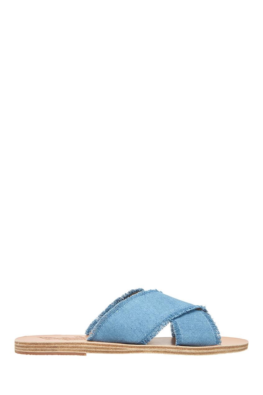 Ancient Greek Sandals Джинсовые сандалии цены онлайн