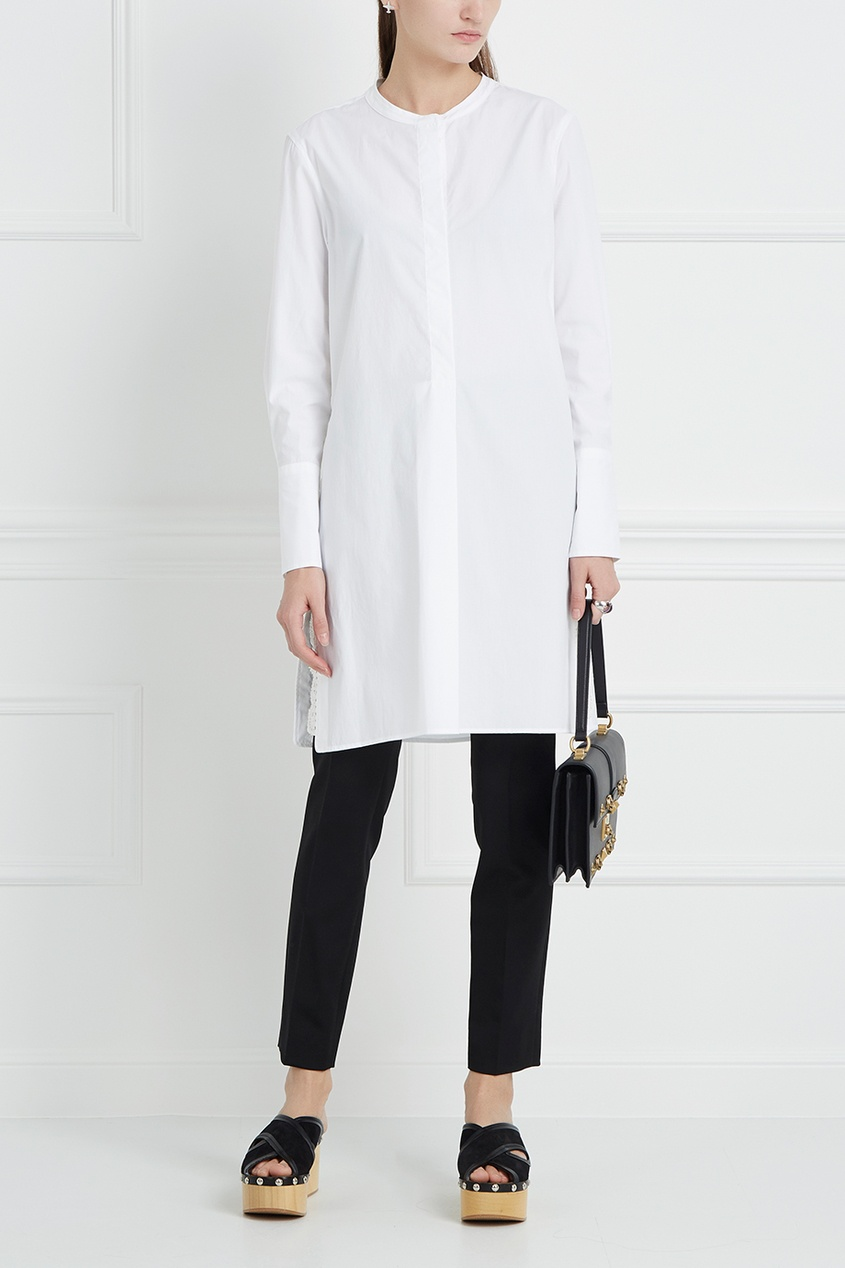 Хлопковая блузка Minea
