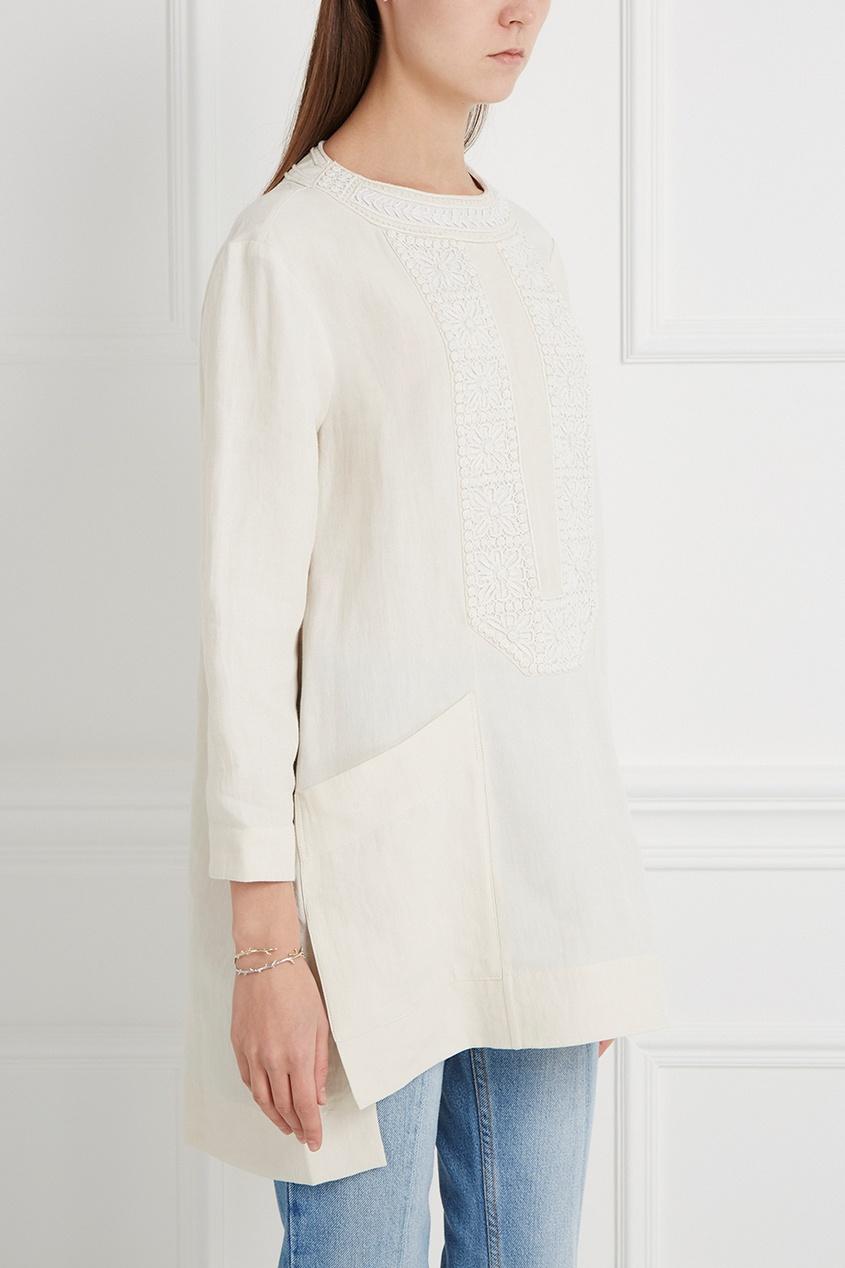Льняная блузка Phoenix