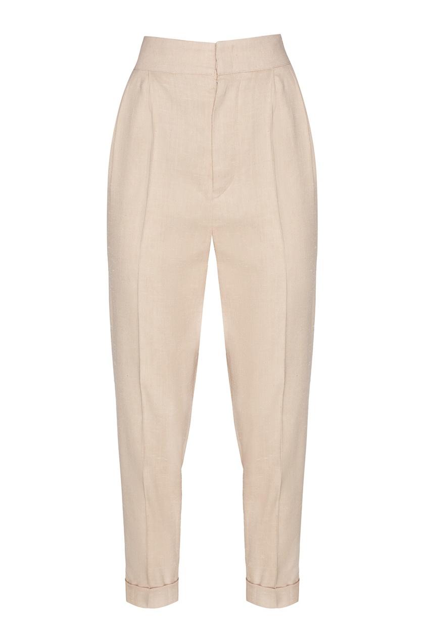 Хлопковые брюки со стрелками