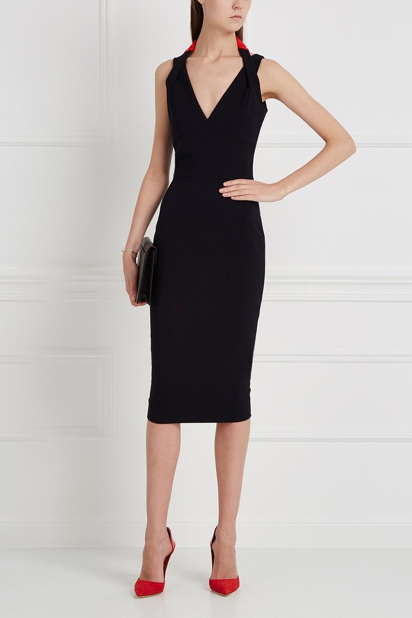 Victoria Beckham Однотонное платье