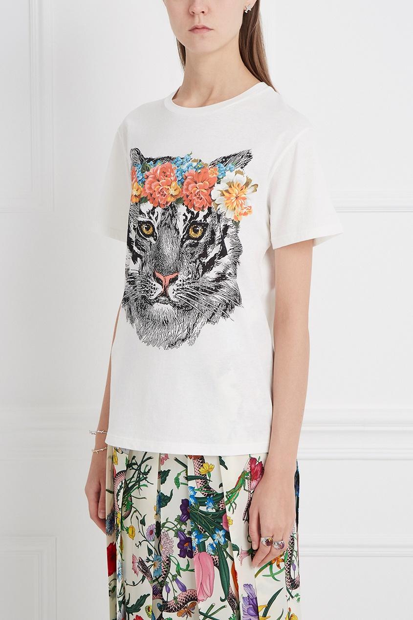 Gucci Хлопковая футболка