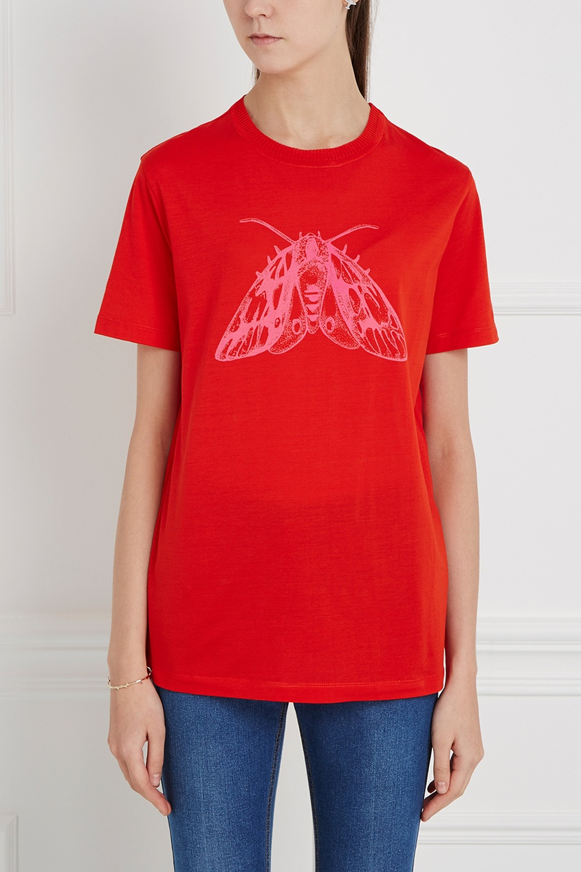 Carven Хлопковая футболка