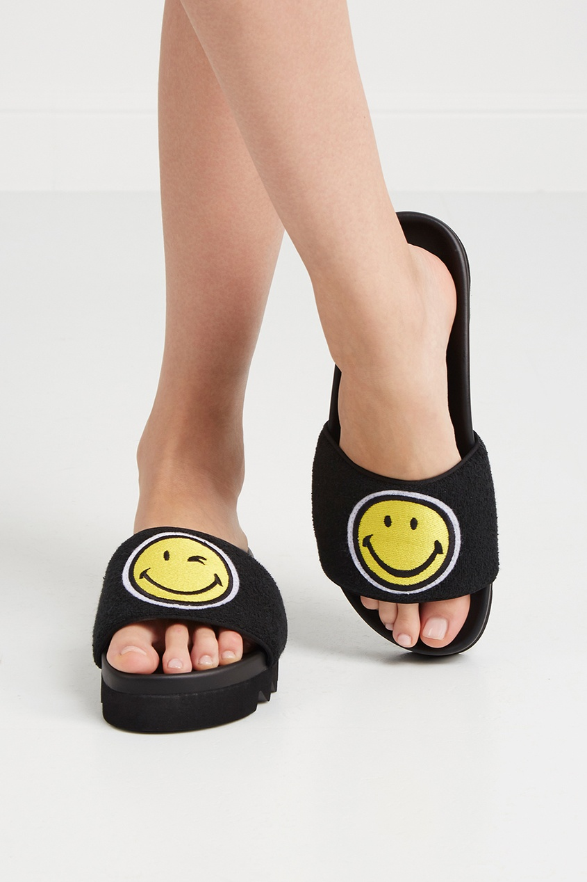 Хлопковые сандалии Black Smile