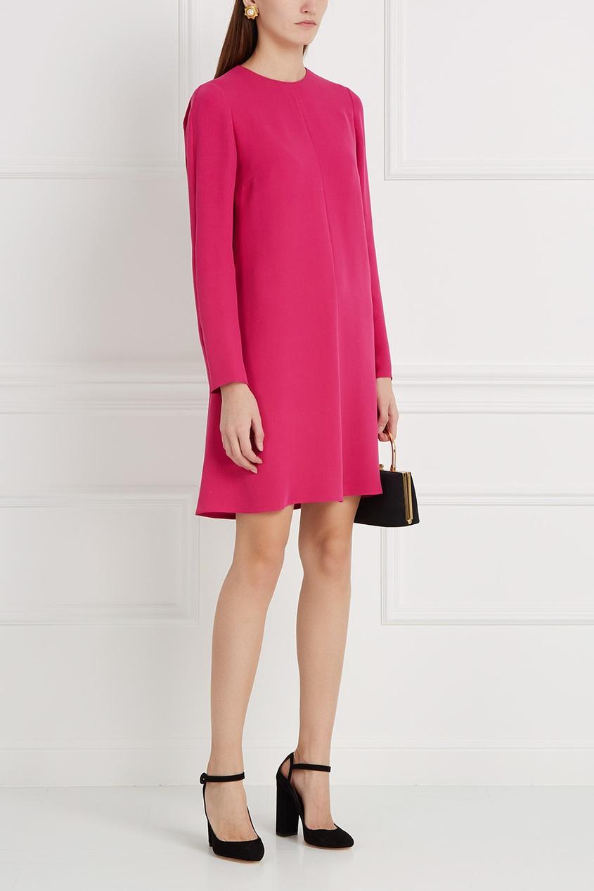 Valentino Платье-шифт из шелка костюмы pepelino костюмы