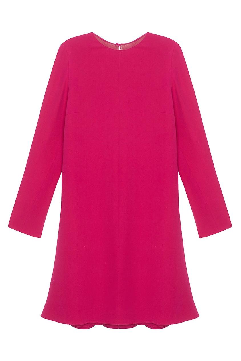 Платье-шифт из шелка VALENTINO