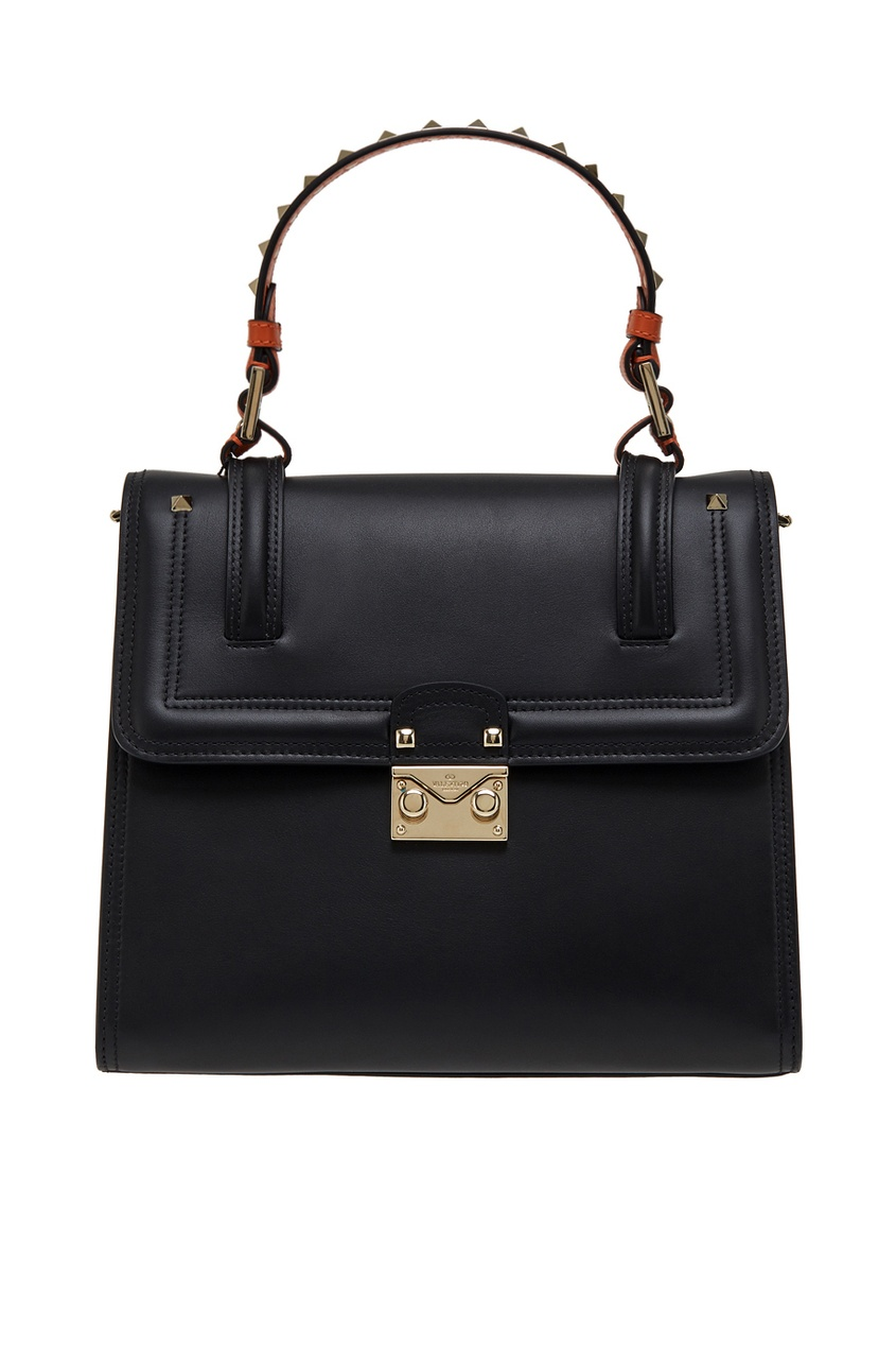 Valentino Кожаная сумка сумка giovanni valentino mtp00131699 valentino c rockee